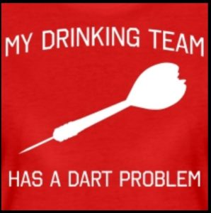 My drinking team has a dart problem